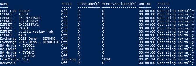 Importing Hyper-V VMs After Rebuilding Host