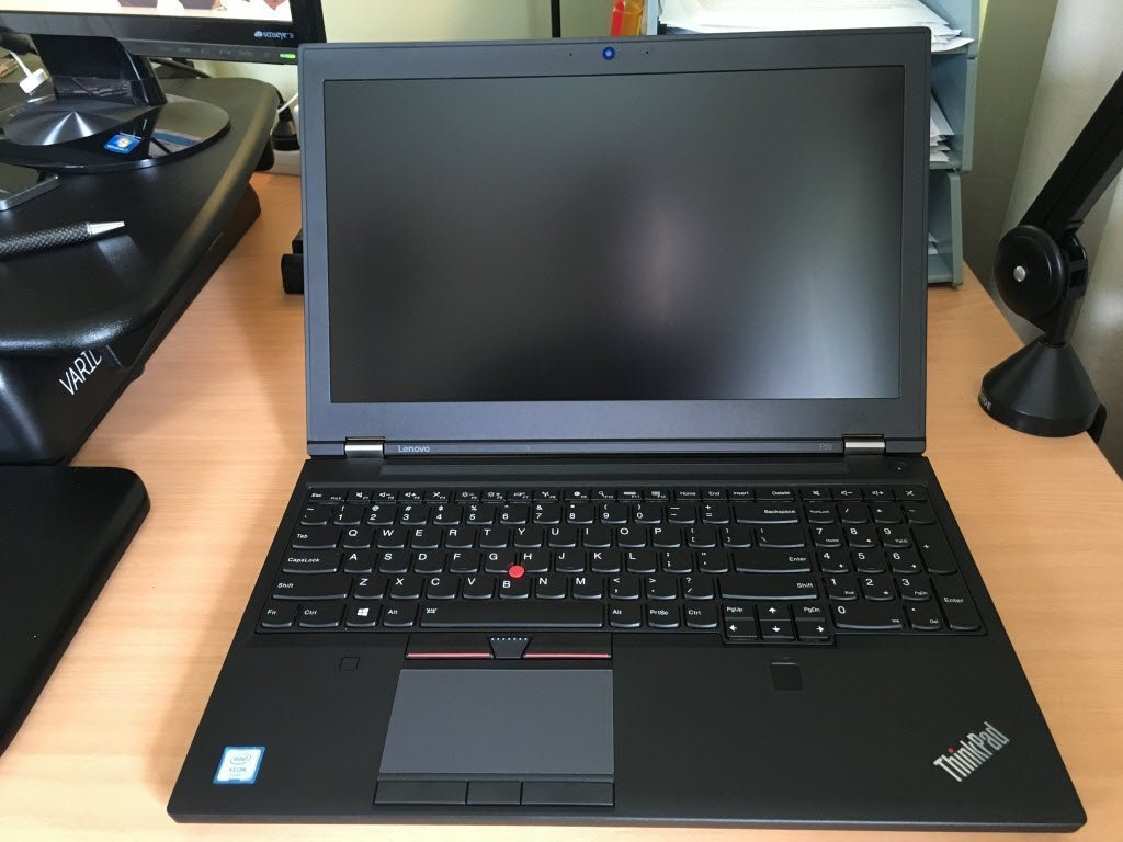 Two Months with the Lenovo ThinkPad P50 Mobile Workstation