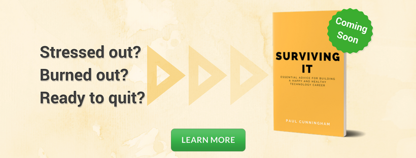 Surviving IT Book coming soon banner after post