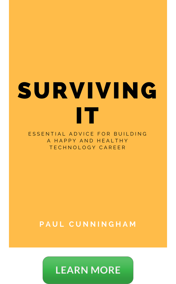 Surviving IT Book Coming Soon Banner