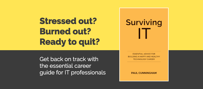 Surviving IT Book Banner