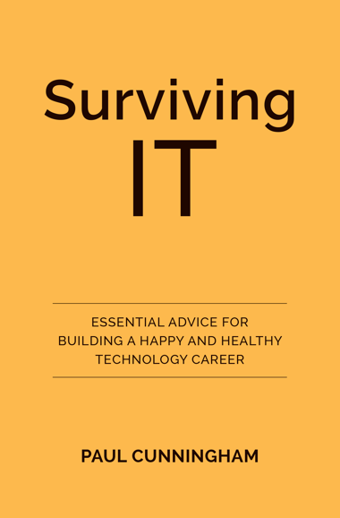 Surviving IT Book Cover