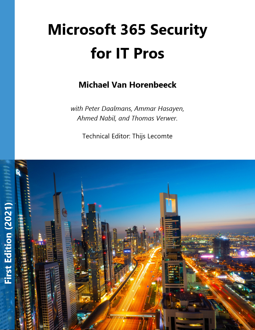 Review: Microsoft 365 for IT Pros (First Edition) Book Cover